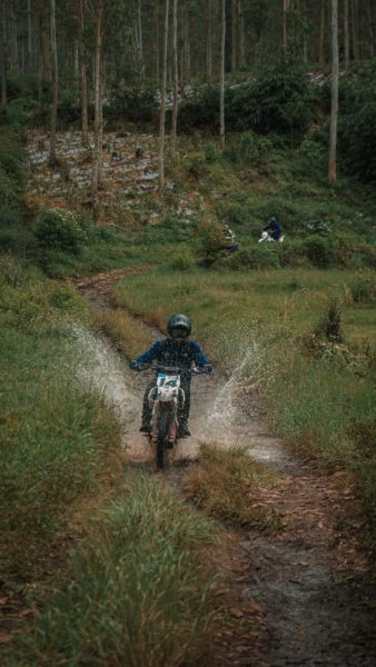 sewa motor trail bandung lembang